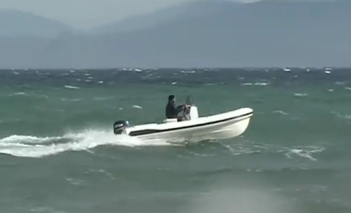 Vento 500 - rough sea rib test